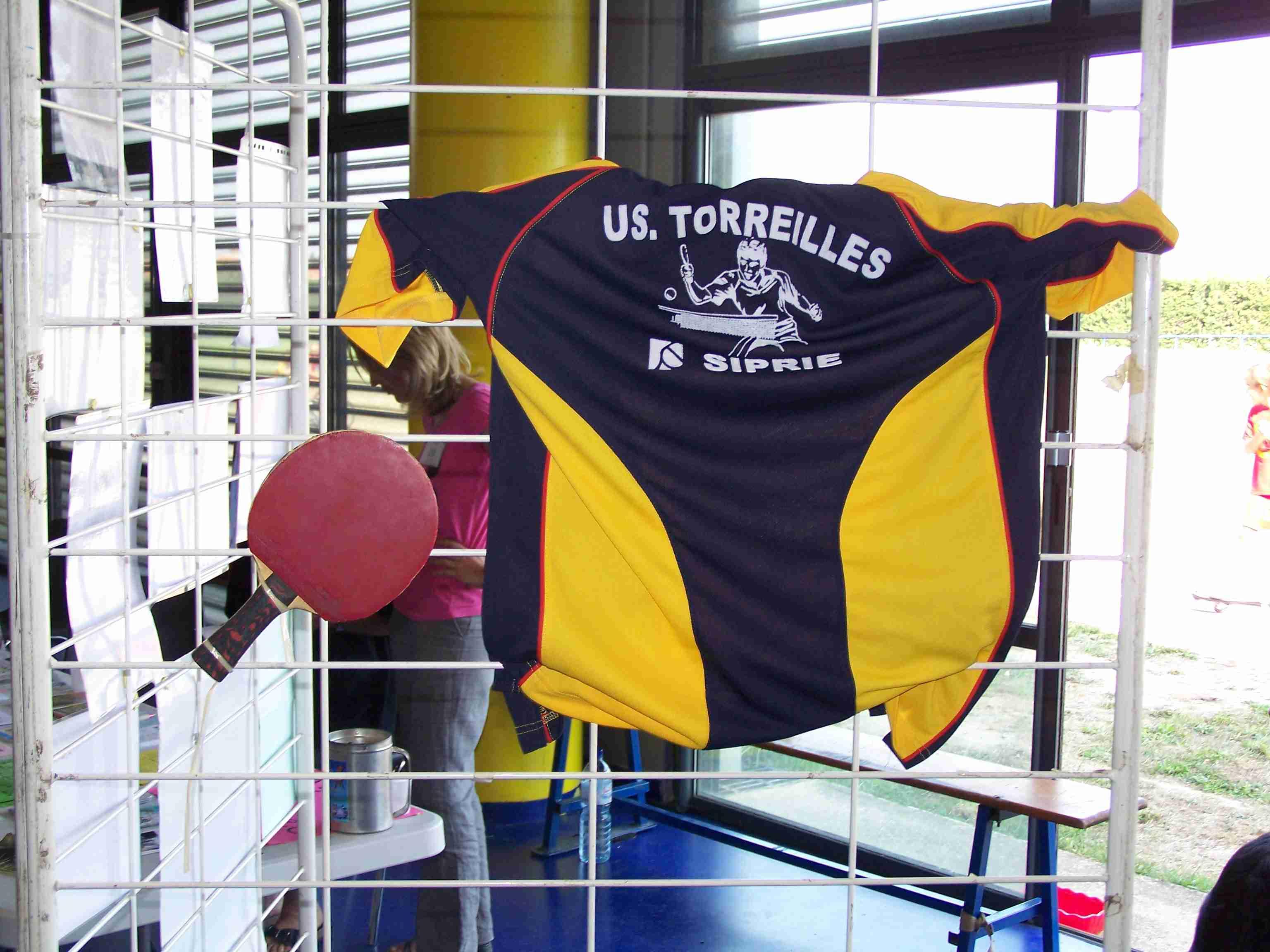 Forum des associations à la halle des sports le 04/09/2010