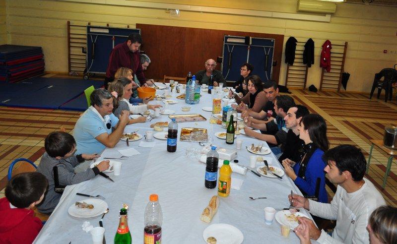 29/09/2012 : Repas du club