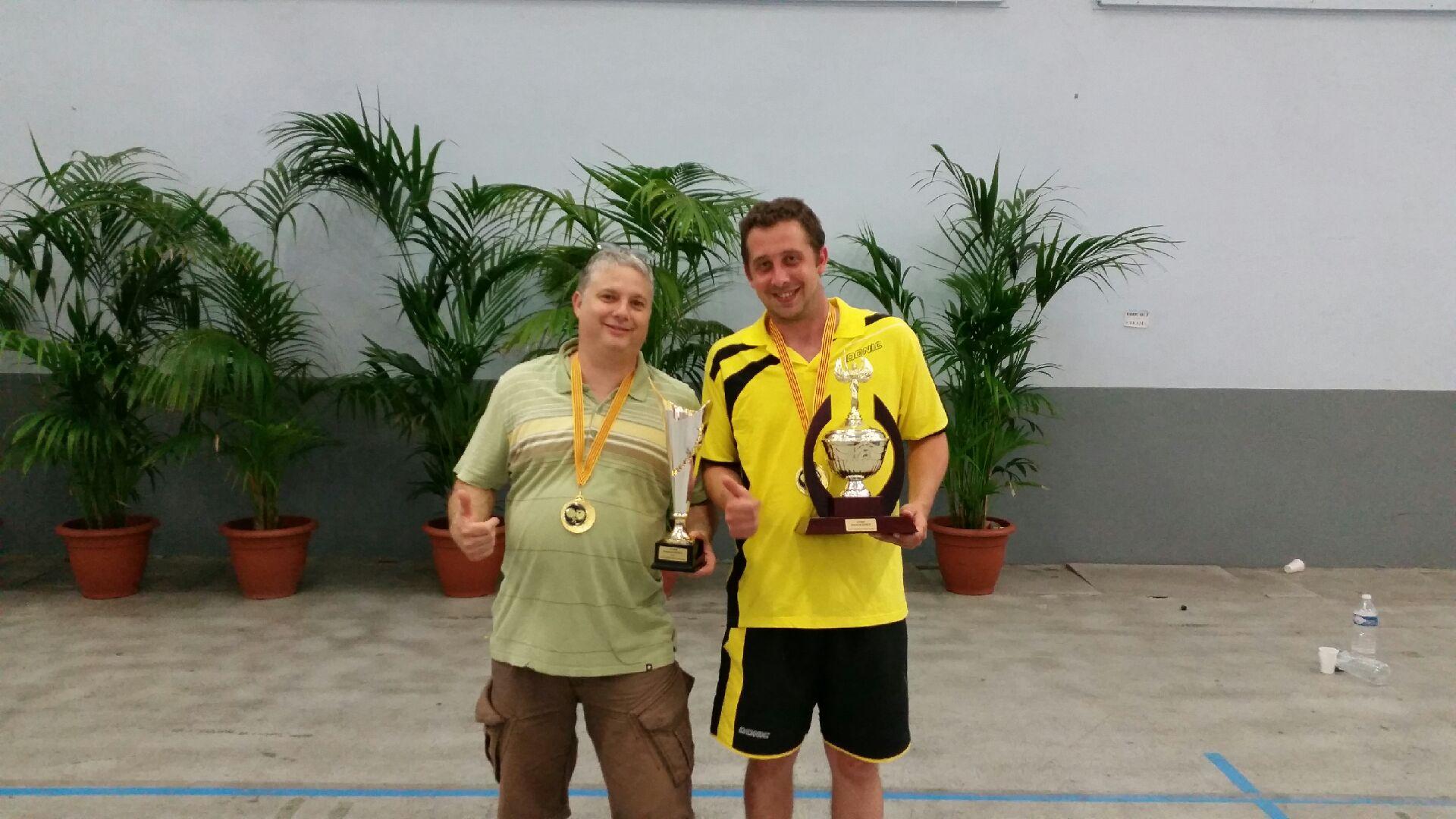 Luc et Patrick vainqueurs de la coupe GORCE