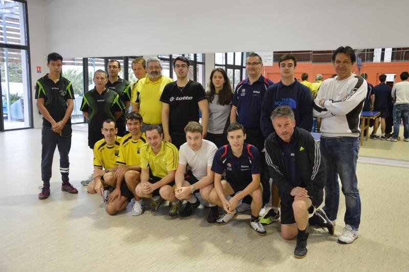 Les équipes de PR et D1 face à Argelès et Perpignan St Gaudérique