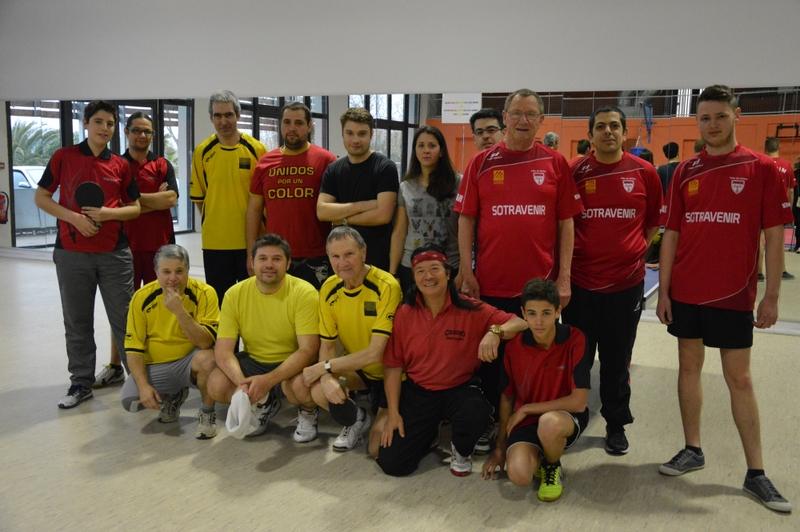 Les équipes de Torreilles, Canohès, Millas de D1 et D2